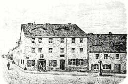 The house in Meissen where Hahnemann was born